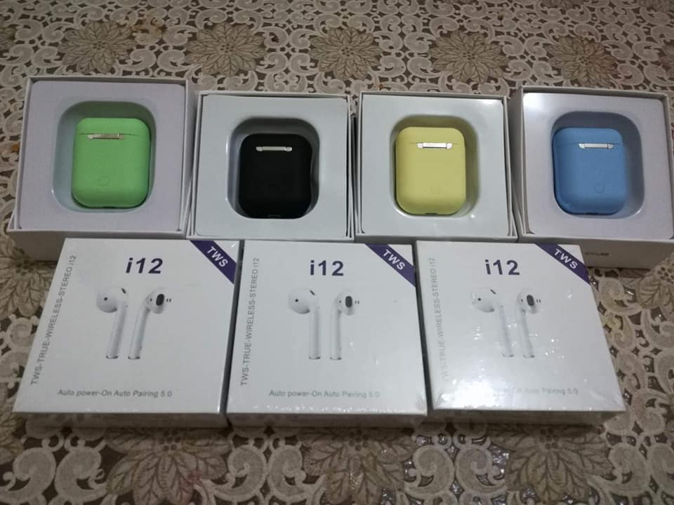 ‎Airpods i12 /i12 couleur