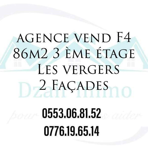 appartement F4 Les verges 86m²