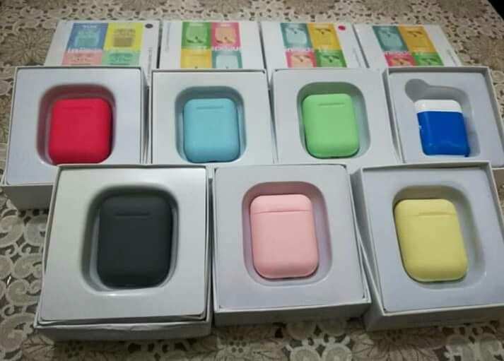 ‎‎Airpods i12/ i12 couleur/ kit sport